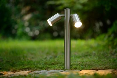 Светильник ARNE-LED 2*5W 14867/10/12 IP44 сатин хром Lucide
