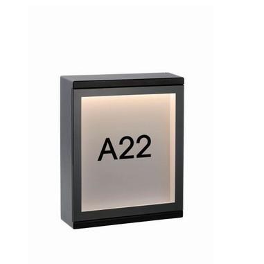 Светильник CADRA LED 6W 27879/06/30 IP54 черный Lucide