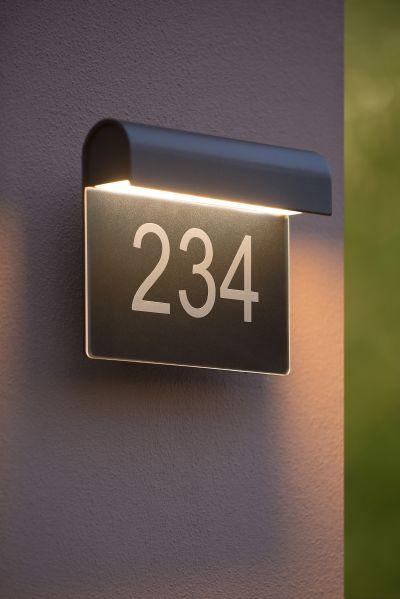 Светильник THESI LED 6W 27881/06/30 IP54 черный Lucide