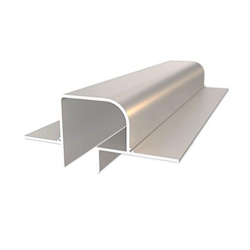 Профиль теневого шва центральный алюминиевый TSHz 2040