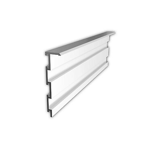 Плинтус алюминиевый скрытого монтажа ALPL S6010