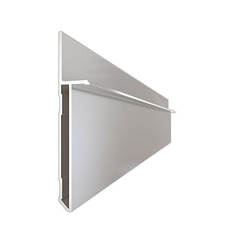 Плинтус алюминиевый скрытого монтажа ALPL M58