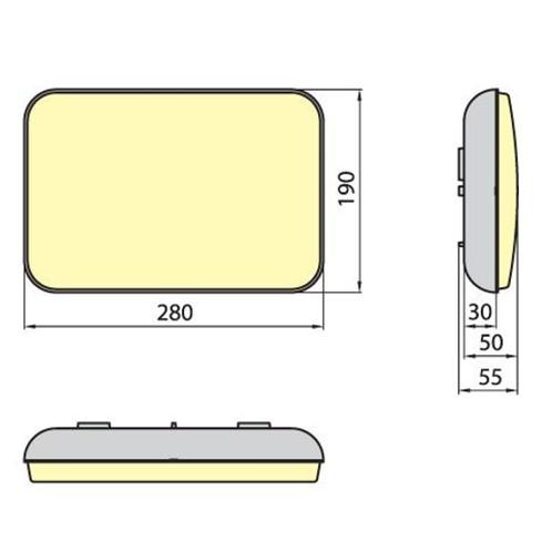 Светильник PORTO 9W IP54 ELGO