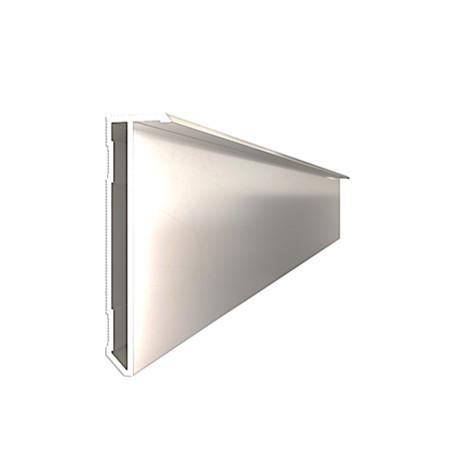Плинтус алюминиевый скрытого монтажа ALPL S60