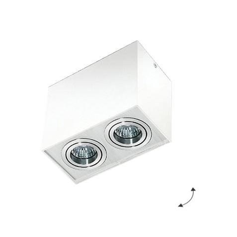 Светильник накладной Eloy 2 AZ1354 белый/алюминий AZzardo