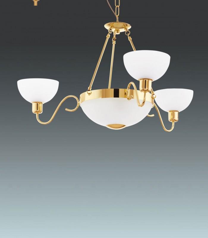 Люстра Savoy 1 95915 золото/белый EGLO