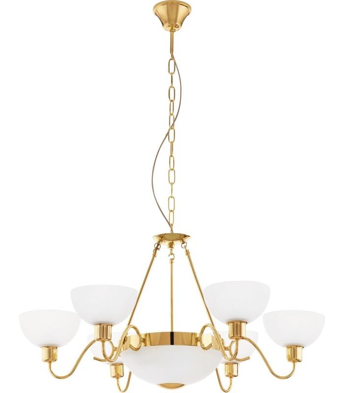 Люстра Savoy 1 95916 золото/белый EGLO
