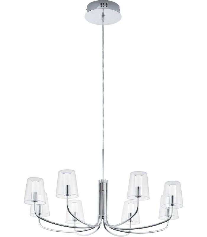 Люстра Noventa LED 96516 хром/прозрачная EGLO